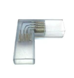 CONECTOR ESQUINA TIRAS LED 220V RGB