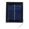 TIRA LED BLANCA  CON PANEL SOLAR  2V 0.7W  3000K  IP 65