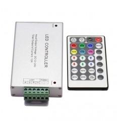 CONTROLADOR RGB CON MANDO 12V ~ 24V  12A